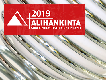 Don't miss our new unique product offer at Alihankinta 2019!
