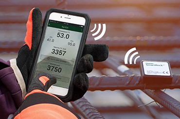 The new, wireless sensor SmartRock™ has revolutionized the construction industry